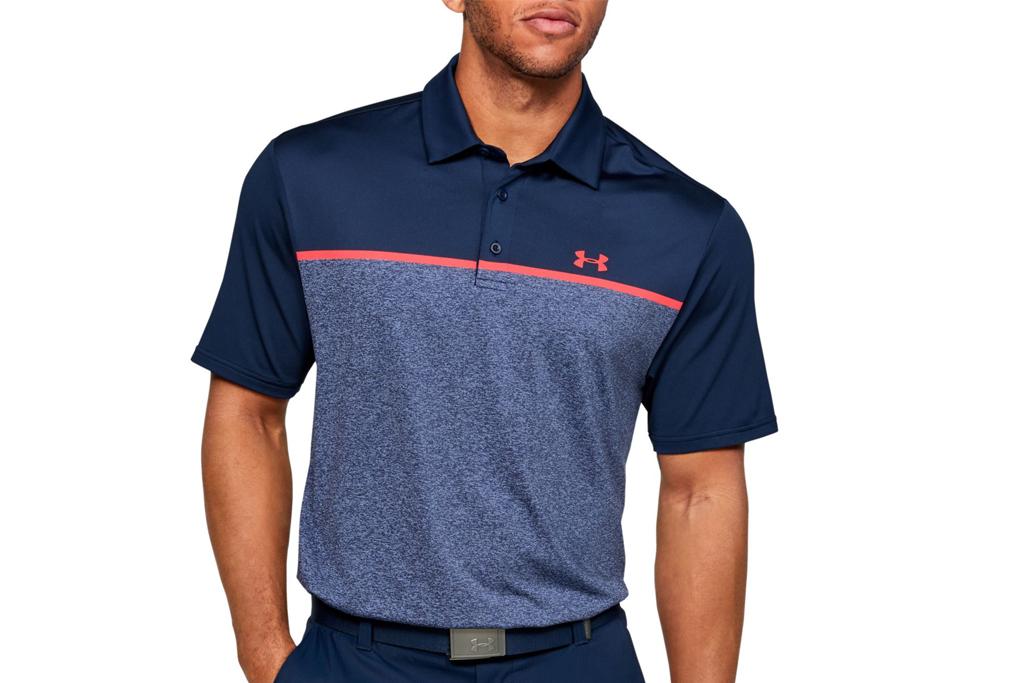 under armour, golf polo