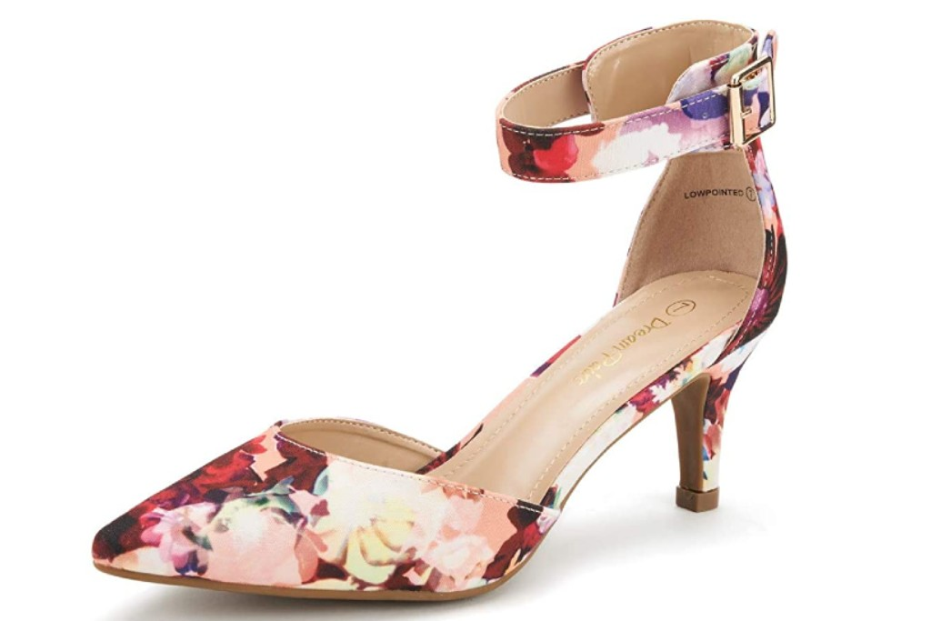 dream pairs floral pumps