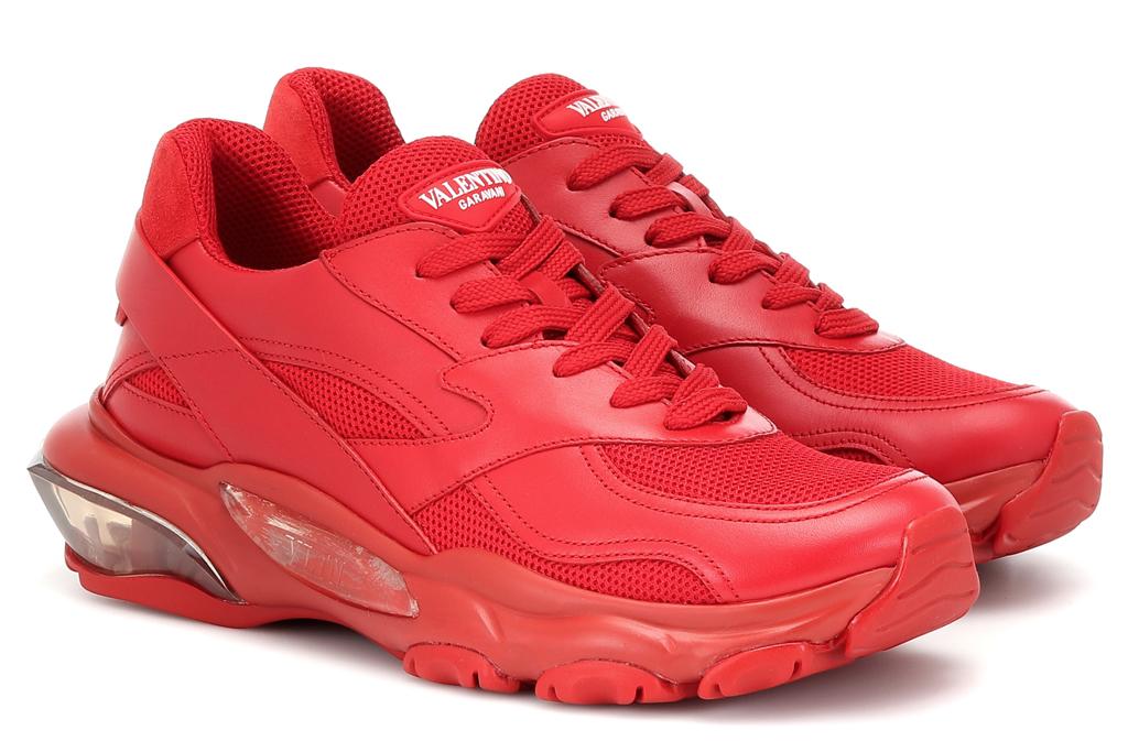 valentino garavani, sneakers red