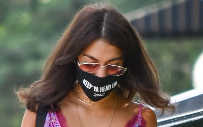 vanessa-hudgens-style-romper-mask