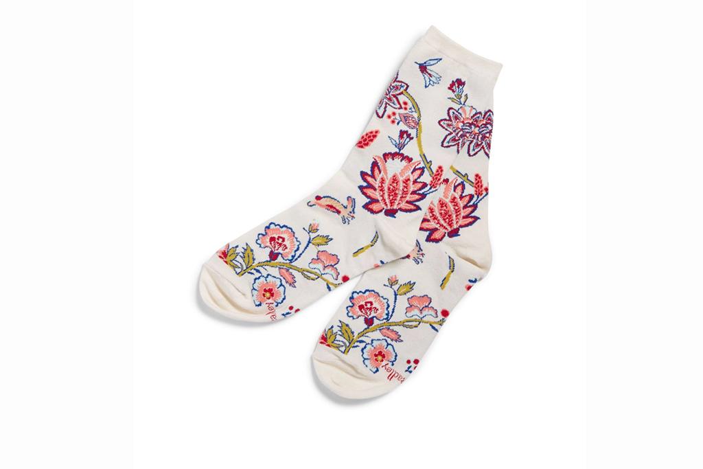 vera bradley sale, vera bradley socks, floral socks