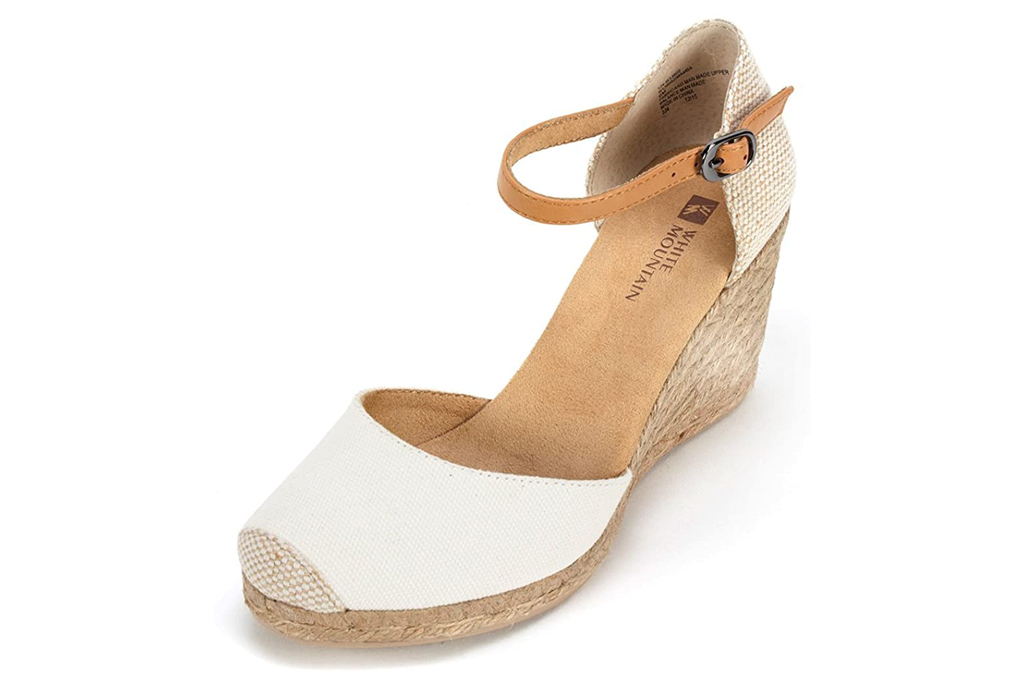 White Mountain, espadrille wedges