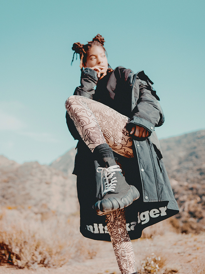 Willow Smith, Onitsuka Tiger, fall 2020, ad campaign