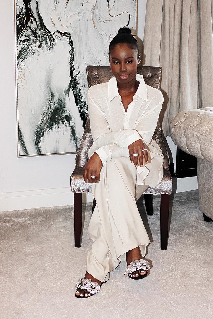 merah vodianova, british fashion, british fashion designer, work form home, work from home style, shoe designer, women in power, fn women in power
