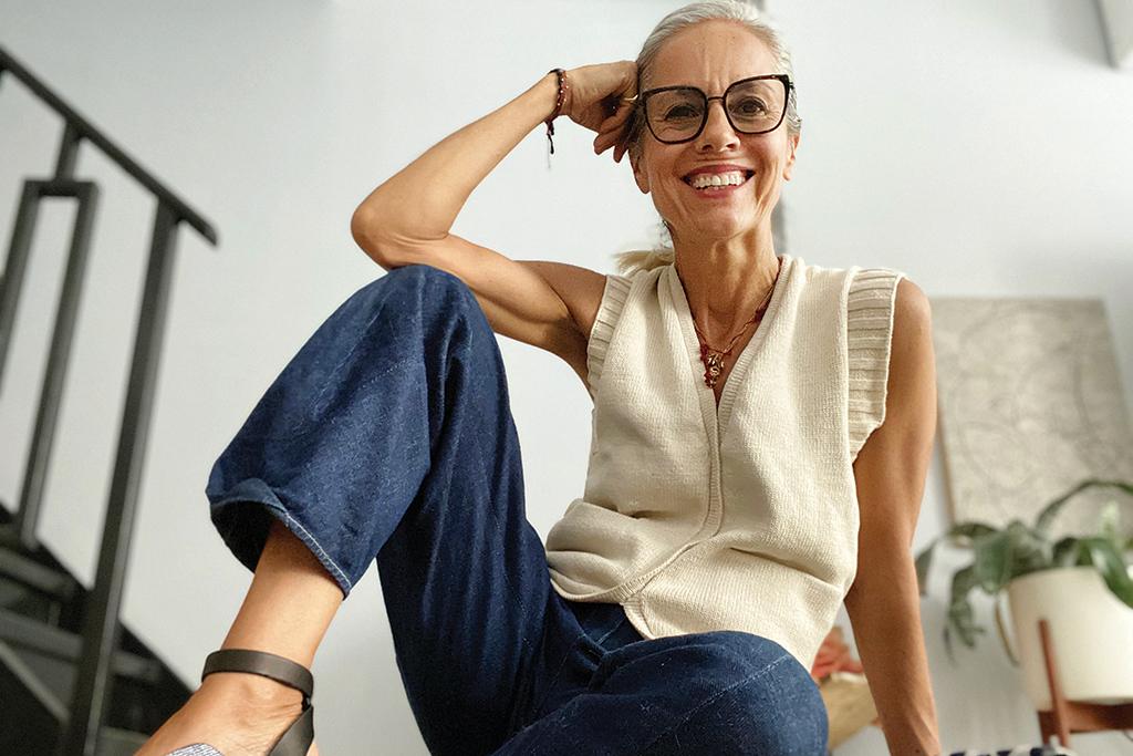maria cornejo, zero + maria cornejo, women in power, power of women, shoe designer, fashion designer, cfda, new york fashion, work from home, work from home style, independent designers