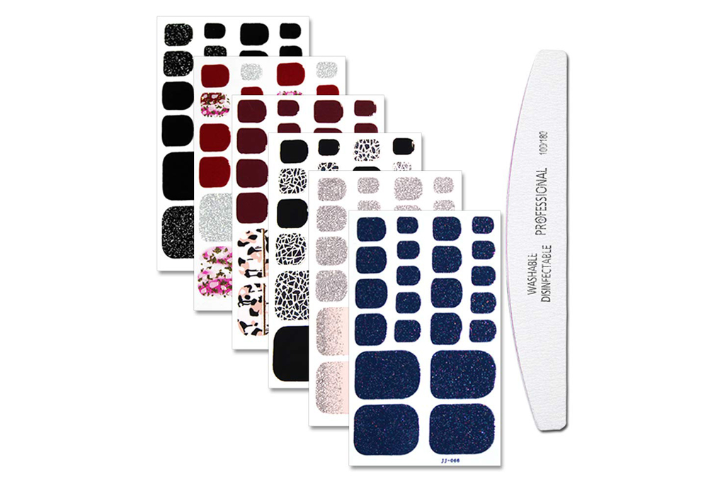 wokoto, toenail stickers