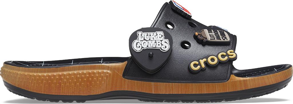 luke combs crocs, crocs slides, sandals, Luke Combs x Crocs Classic Bootlegger Slide