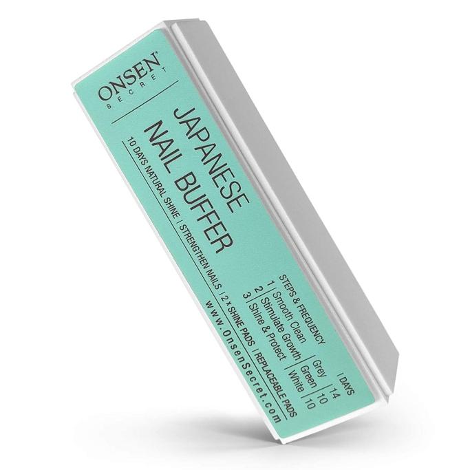 Onsen Secret Professional Nail Buffer, best nail buffers