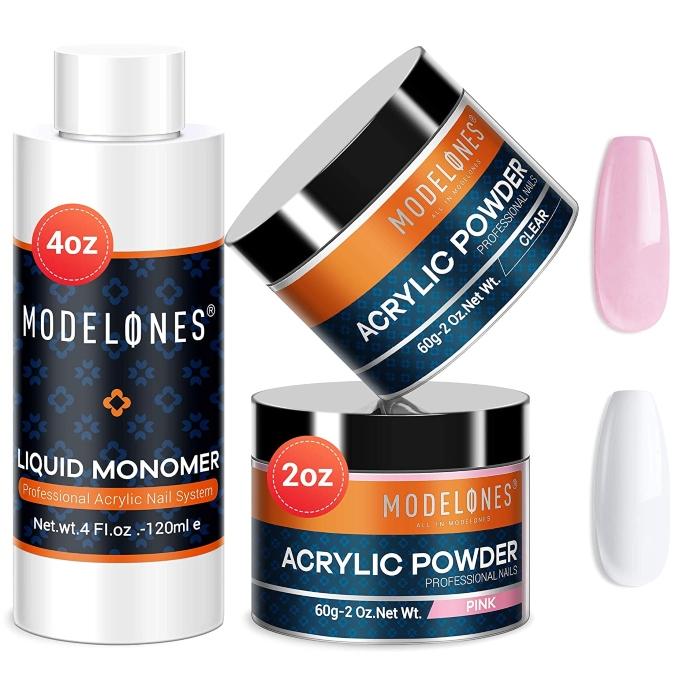 Modelones Liquid Monomer Nail Kit, liquid monomer