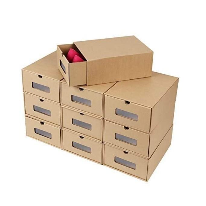 Prasacco Shoes Boxes, shoe storage boxes