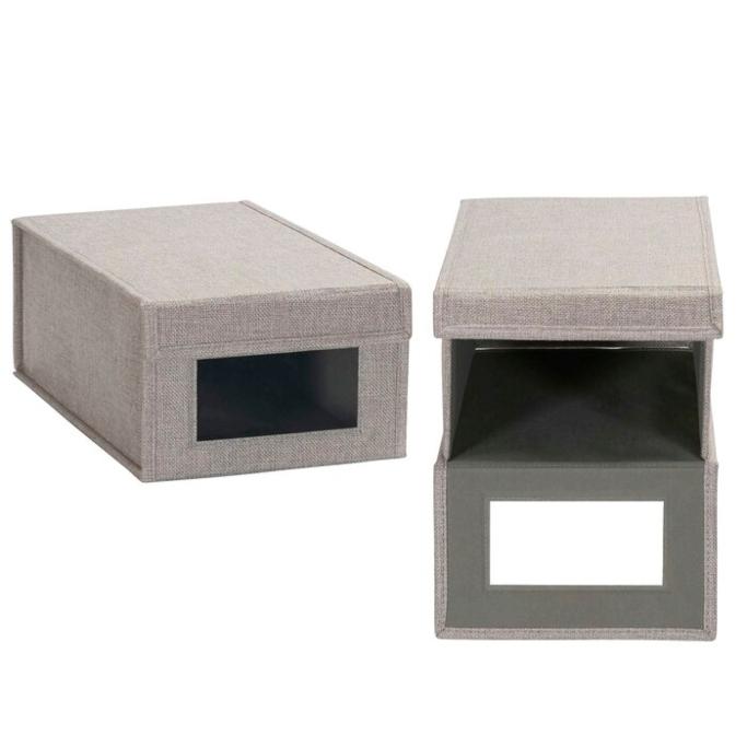 Dotted Line Vision Shoe Storage Box, best shoe storage boxes