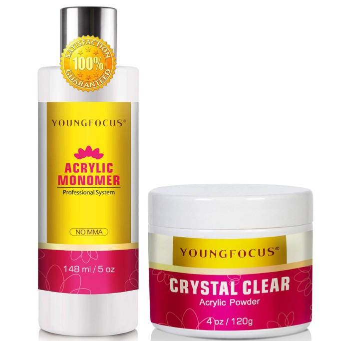 Young Focus Acrylic Liquid Monomer Set, Acrylic Liquid Monomer