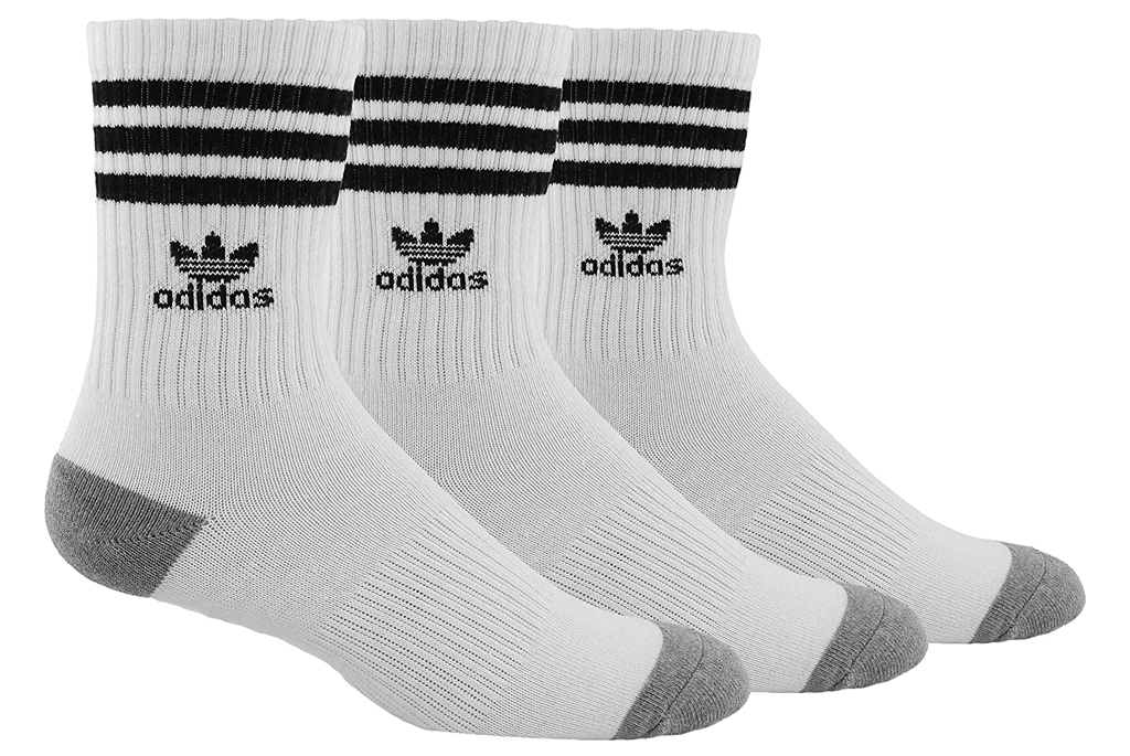 Adidas, crew socks