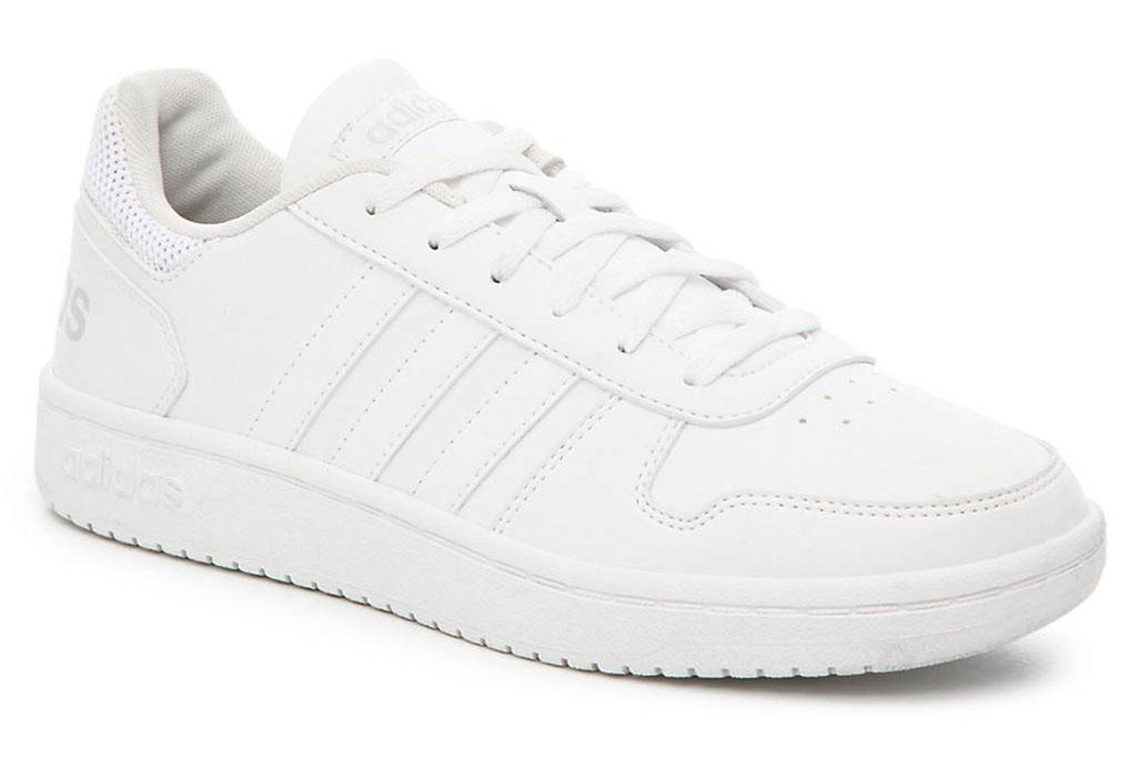 adidas, hoops, 2.0, sneakers, white