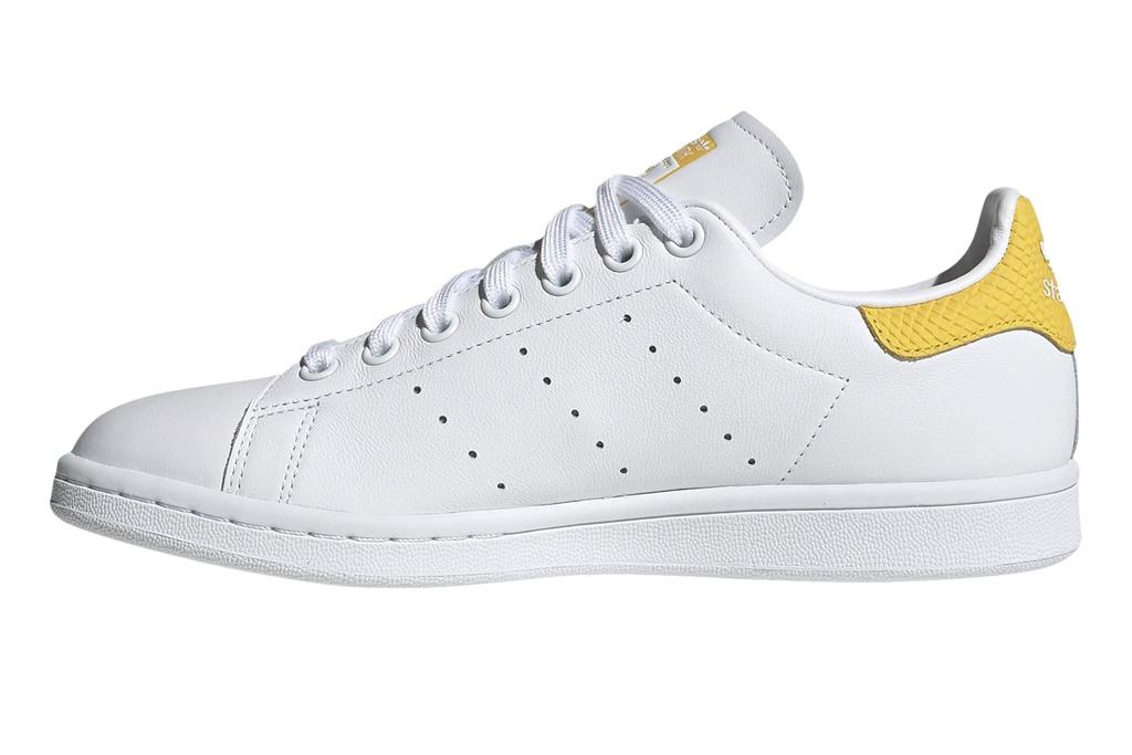 adidas, stan smith, yellow, white