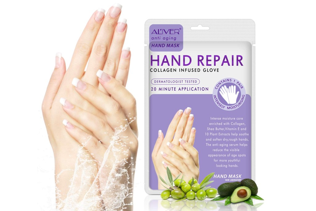 Aliver Hand Repair Collagen Infused Gloves