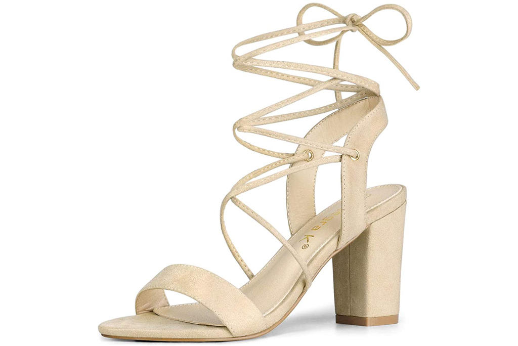 Allegra k, lace-up sandals