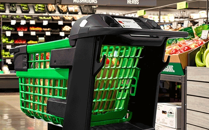 Amazon Dash Cart, smart shopping cart
