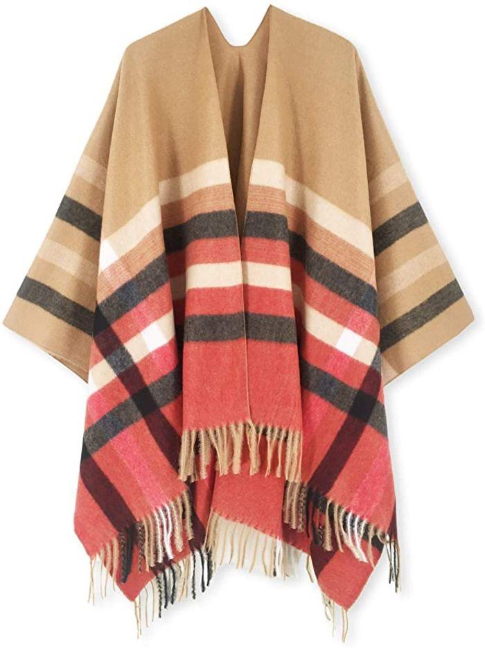amazon, shawl, cape, fall 2020 fashion trends, shawl, cape