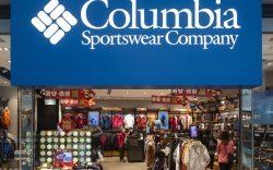 American sportswear brand Columbia store seen