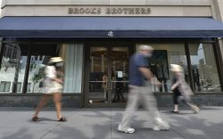 Brooks Brothers, a 200-year old fashion