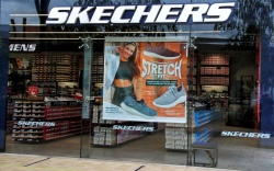 Skechers logo seen at one of