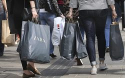 Retail sales. EMBARGOED TO 0001 TUESDAY