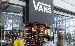 American manufacturer of skateboarding shoes Vans