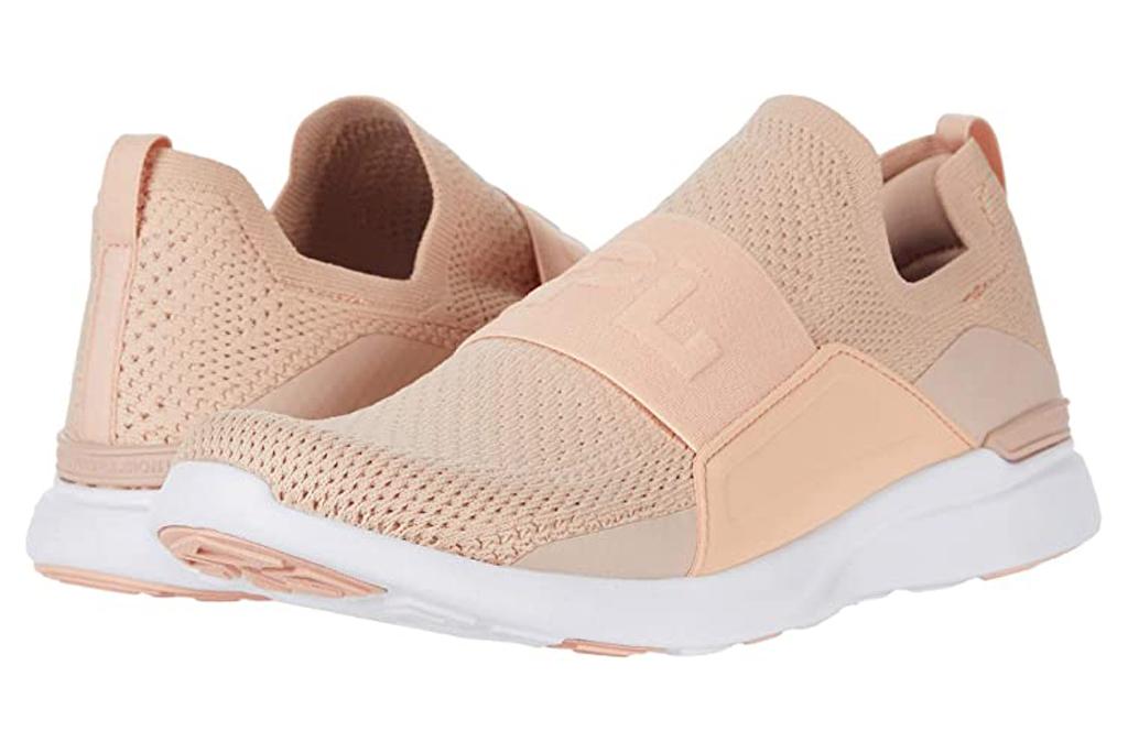 APL, blush sneakers