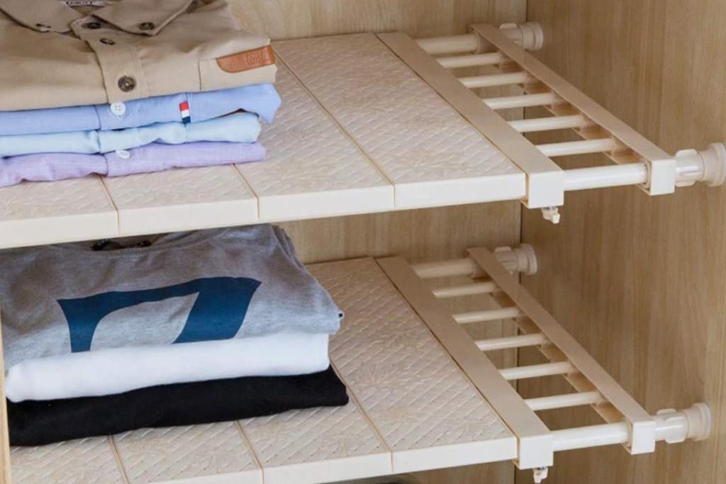 Apsoonsell Adjustable Tension Shelf