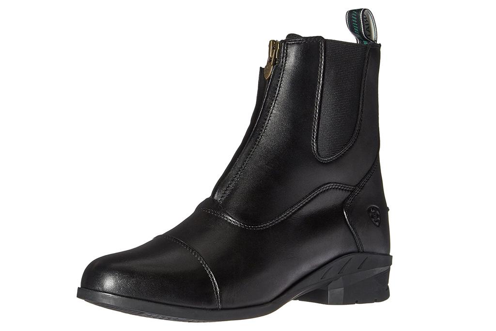 ariat, zip front, boots