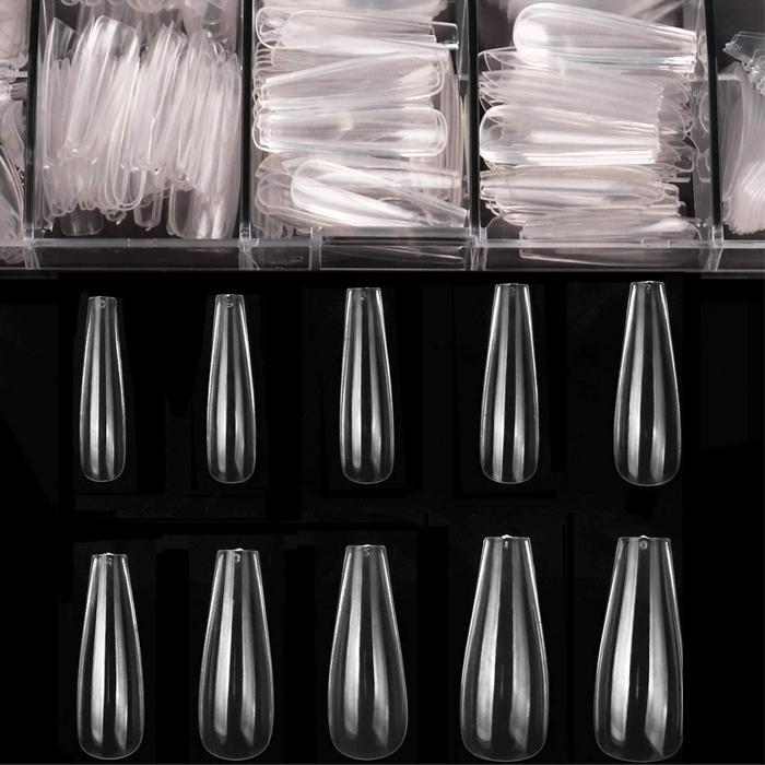 nail tips, coffin
