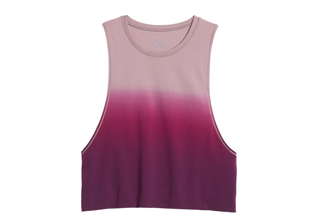 athleta sale, athleta crop, tie-dye tank