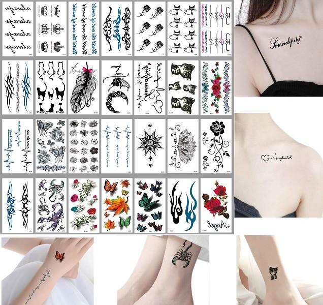 Awlee Temporary Tattoos