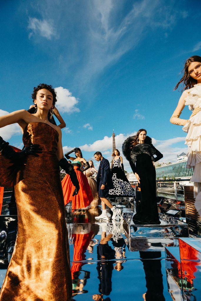 balmain, balmain couture, couture, olivier rousteing, couture fashion week, fashion week
