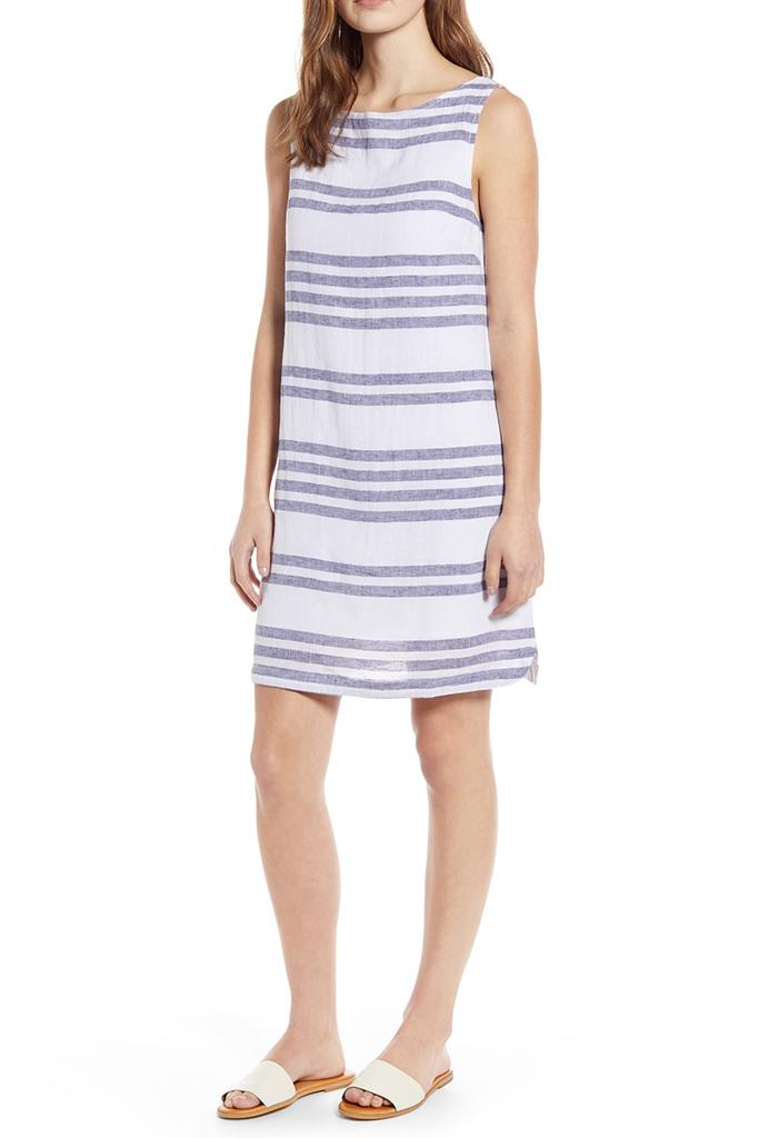 nordstrom linen dress, linen dress, summer dress