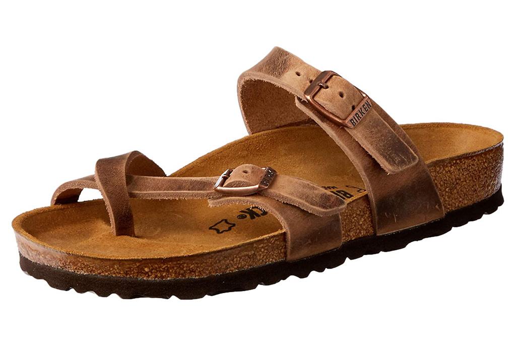birkenstock, sandals, loop toe