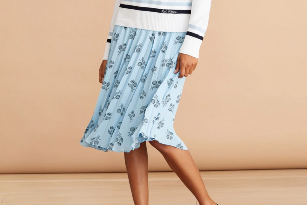 brooks brothers, sale, womens, floral, skirt