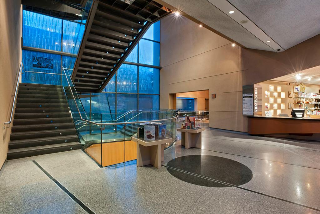 bata shoe museum, shoe museum interior, canada shoe museum