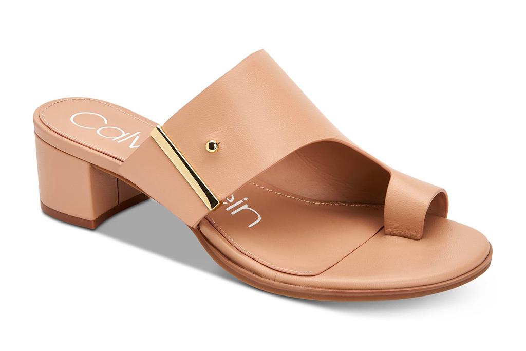 calvin klein, sandals, sale, macy's
