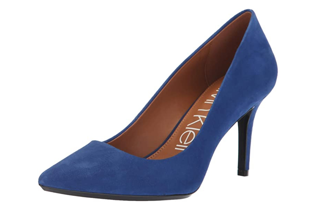 Calvin Klein, gayle, blue pumps