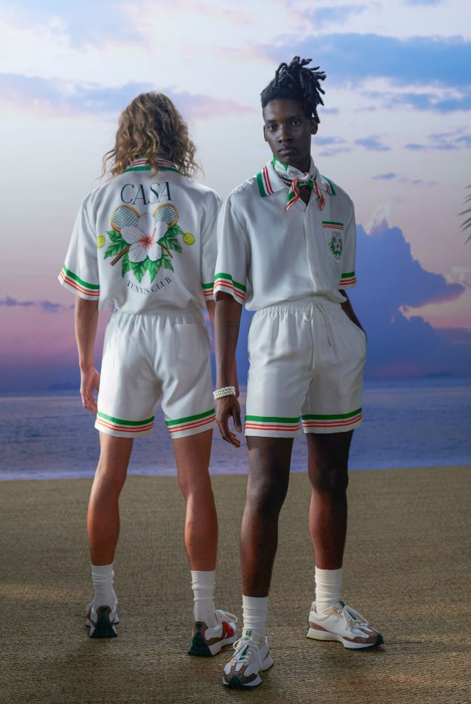 Casablanca, New Balance, Paris Men's Fashion Week