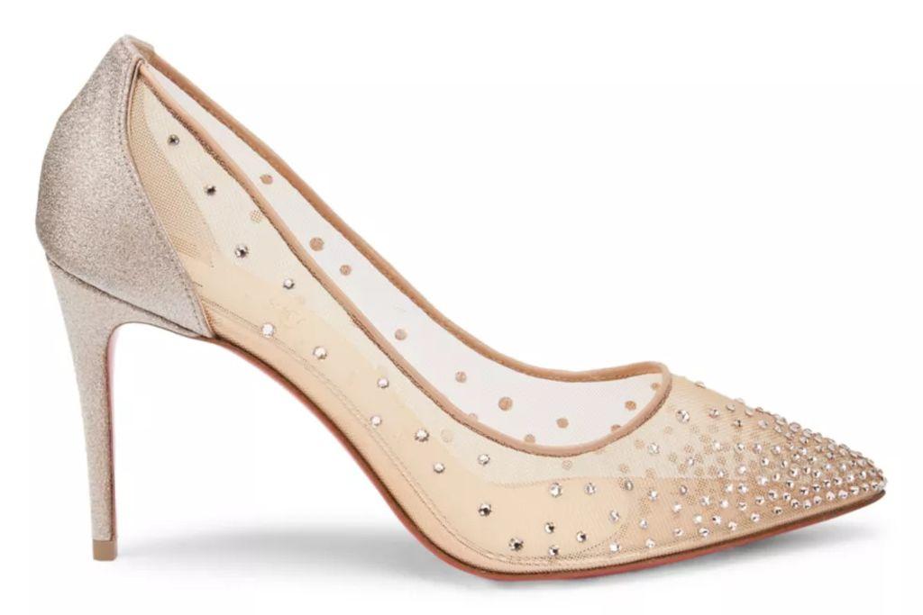 christian louboutin, louboutin, christian louboutin follie strass, follie strass, red bottoms, crazy shoes
