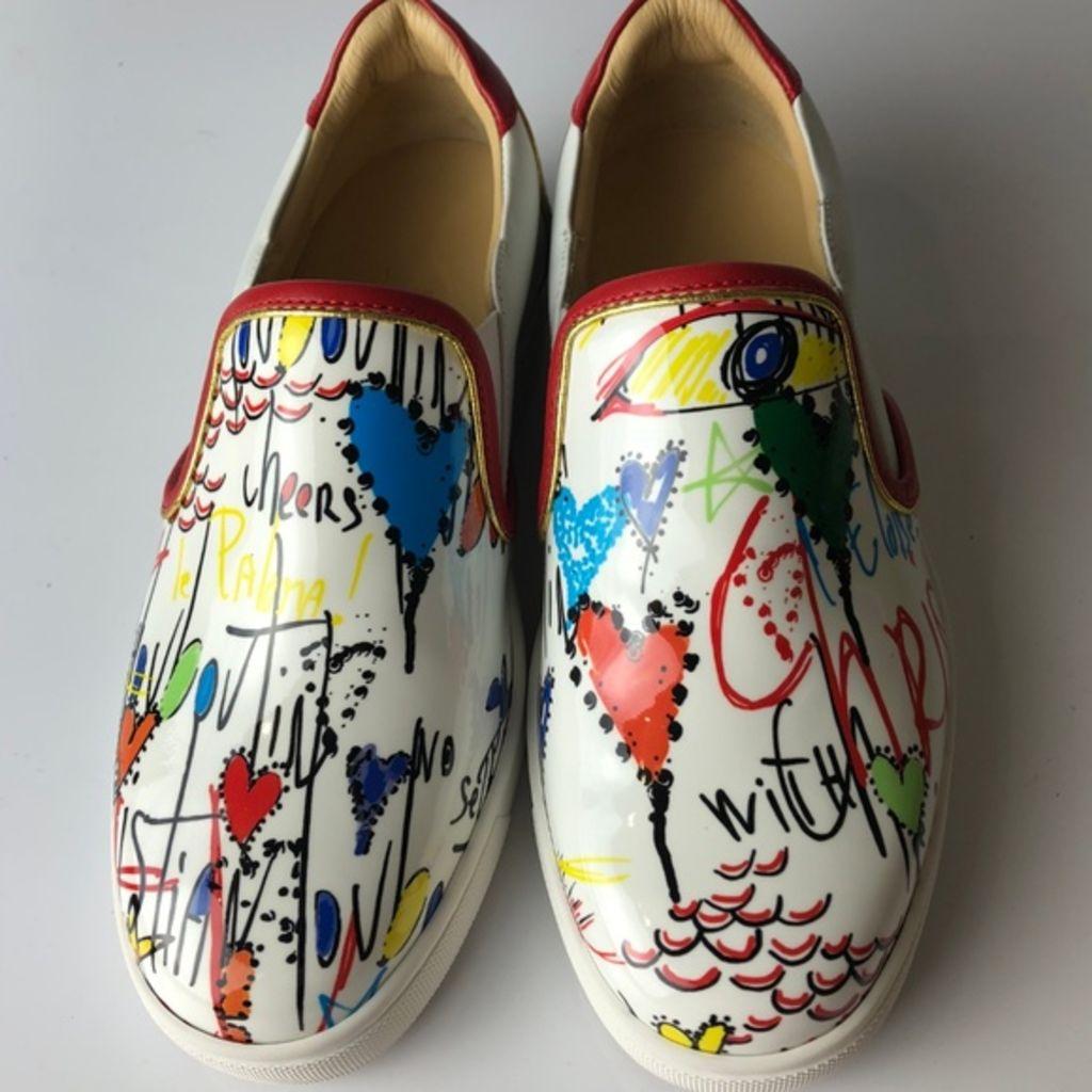 christian louboutin, louboutin, sneakers, louboutin sneakers