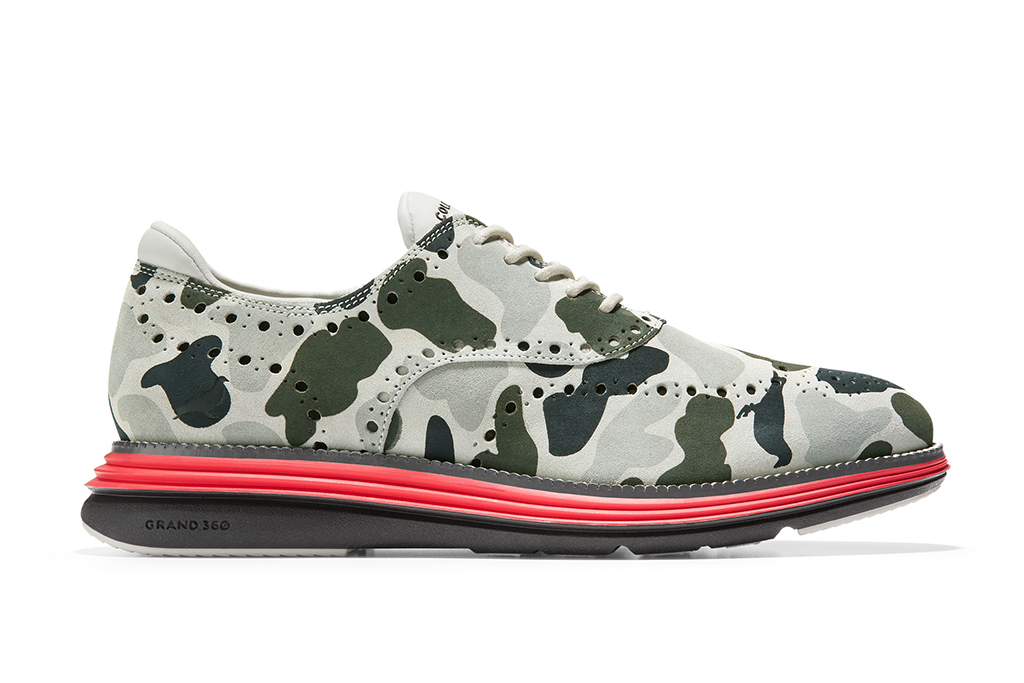 Staple Cole Haan ØriginalGrand Ultra Wingtip Camo Suede
