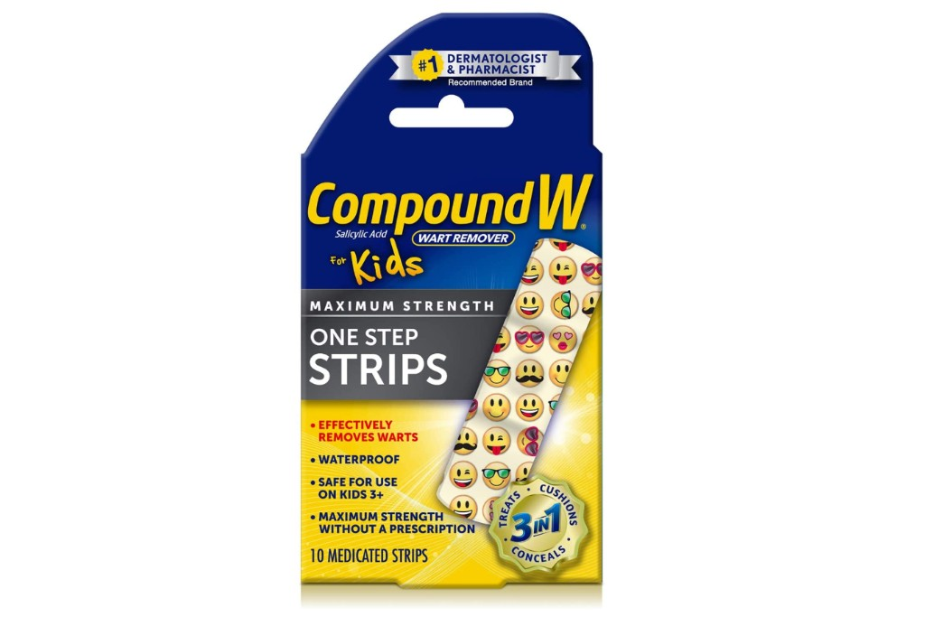 Compound W One Step Wart Removal Strips