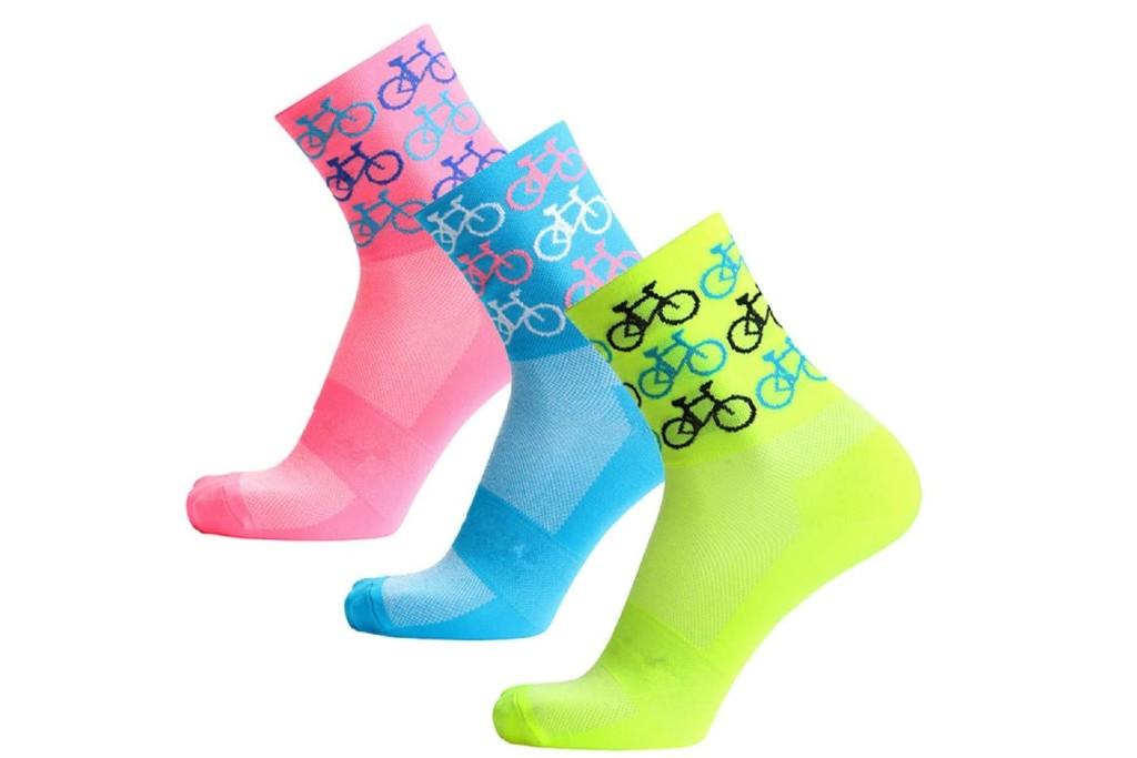 Compressprint cycling socks