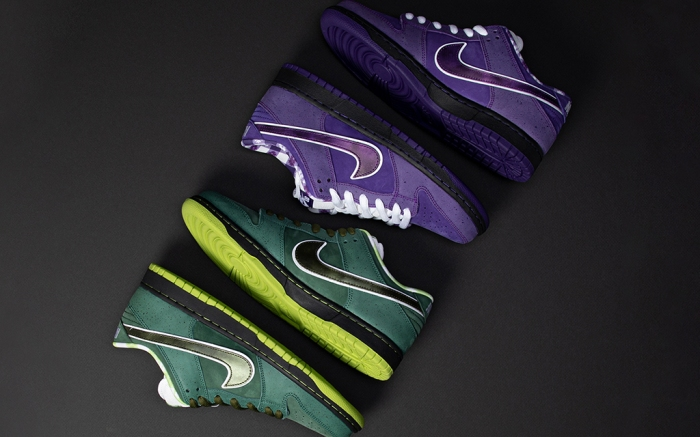 Concepts Nike SB Dunk Low Purple Lobster Green Lobster