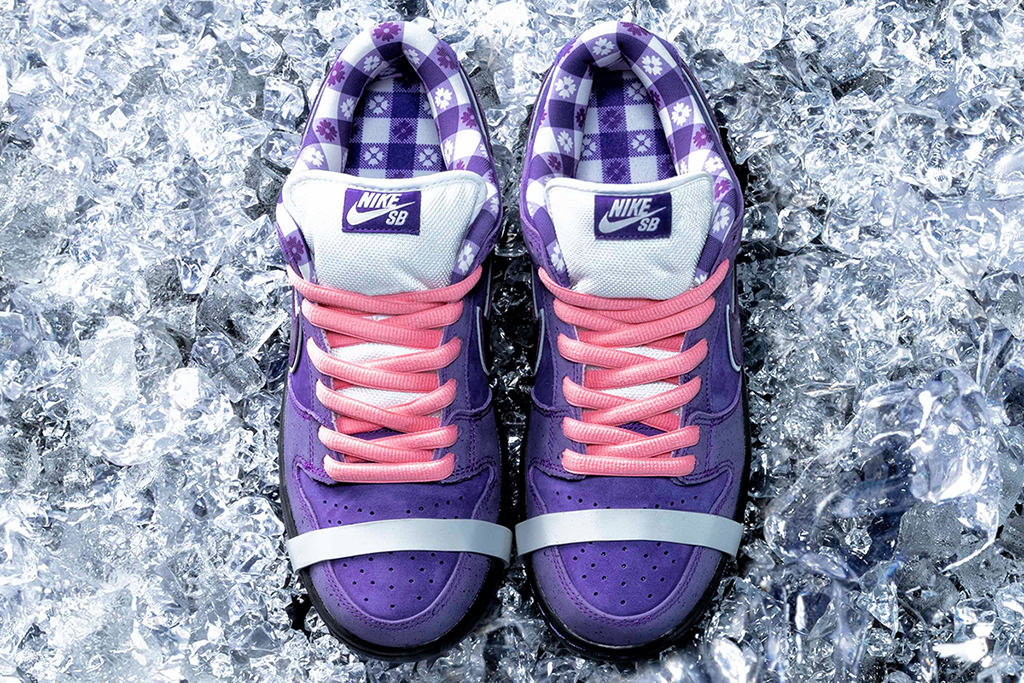 Concepts Nike SB Dunk Low Purple Lobster