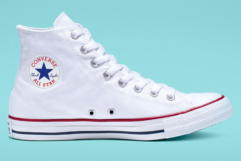 converse, chuck taylor, all star, white